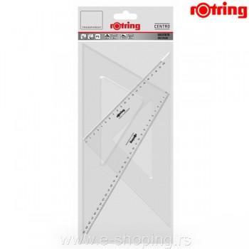 Set trouglovi Rotring Centro 32/37cm 1/2 Art. R0237870