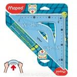 """Trougao Maped 45"""" 26cm flex No.244426"""