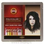 Umetničke drvene boje Koh-I-Noor Polycolor Portrait 1/24 Art. 3824