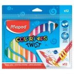 Voštane boje Maped Color'Peps Twist 1/12 Art. 860612