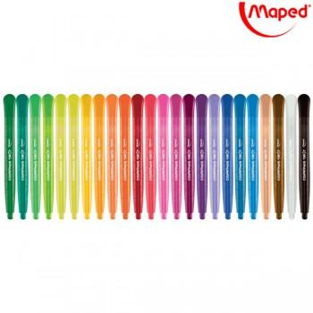 Voštane boje Maped Color'Peps Twist 1/24 Art. 860624