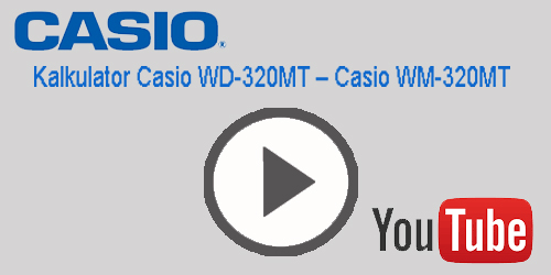 digitron casio WM-320MT WD-320MT